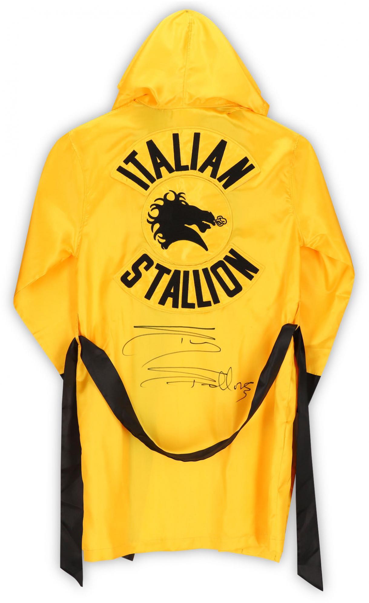 Sylvester Stallone Rocky III Autographed Italian Stallion Robe