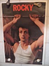 Sylvester Stallone Rocky Movie 23x35 Poster Thought Factory 1977 Original Rare