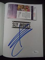 Sylvester Stallone Rocky Movie Legend Signed Autographed Sly Moves Book Jsa Coa