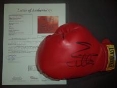 Sylvester Stallone Rocky Movie Signed Autographed Everst Boxing Glove W/coa Rare