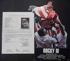 Sylvester Stallone Rocky Signed Autograph 9x16 Stand Up Display Jsa Loa #x96201