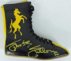 Sylvester Stallone Rocky Signed Boxing Shoe PSA/DNA #AA28921