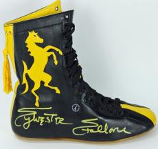 Sylvester Stallone Rocky Signed Boxing Shoe PSA/DNA #AC43053