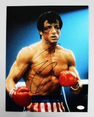 Sylvester Stallone Signed 11×14 Rocky Photo – JSA Full LOA
