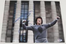 Sylvester Stallone Signed 11x14 Photo Rocky Balboa Rambo Autograph Psa B