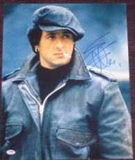 SYLVESTER STALLONE Signed 16 x 20 PHOTO with PSA COA
