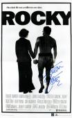 Sylvester Stallone Signed 24x36 Rocky Movie Poster ASI COA