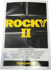 Sylvester Stallone Signed Autographed Original Poster Rocky II Full Signature