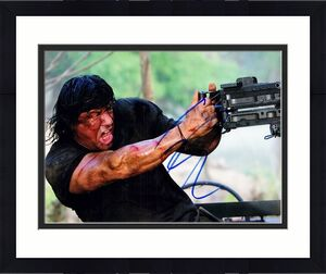 Sylvester Stallone Signed - Autographed RAMBO 8x10 inch Photo - Guaranteed to pass PSA or JSA