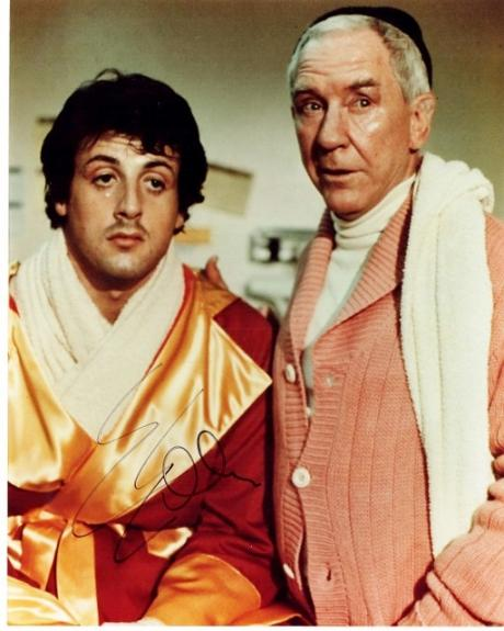 Sylvester Stallone Signed - Autographed ROCKY 8x10 inch Photo - Guaranteed to pass PSA or JSA