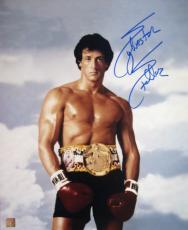 "Sylvester Stallone Signed ROCKY 16x20 Photo ""ROCKY III"