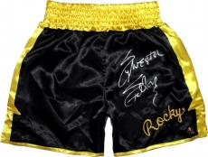 Sylvester Stallone Signed ROCKY II Boxing Trunks