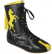 Sylvester Stallone Signed Rocky II Italian Stallion Boxing Boot BAS #B89372