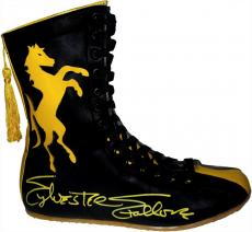 Sylvester Stallone Signed ROCKY II Stallion Boxing Boot