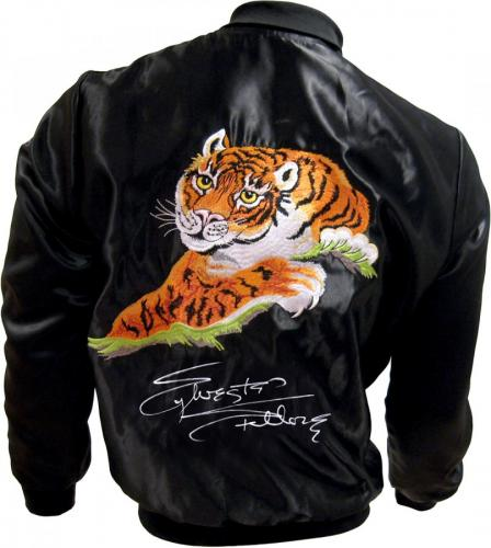 Sylvester Stallone Signed ROCKY II Tiger Jacket