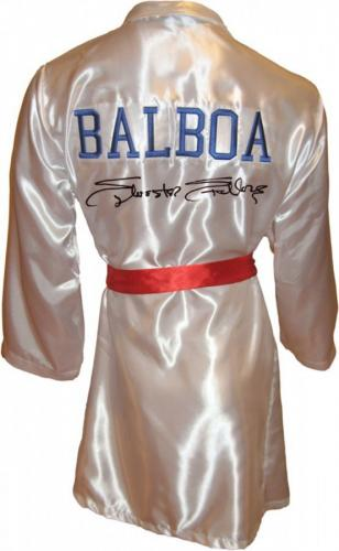Sylvester Stallone Signed ROCKY IV Boxing Robe