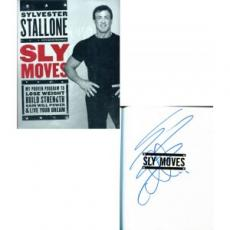 """Sylvestor Stallone Autographed """"Sly Moves"""" Book"""
