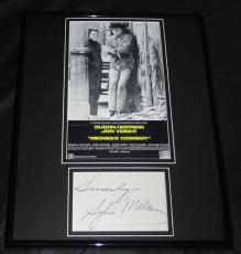 Sylvia Miles Signed Framed 11x14 Photo Display Midnight Cowboy