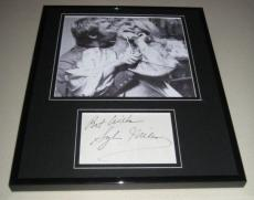 Sylvia Miles Signed Framed 11x14 Photo Display Midnight Cowboy w/ Jon Voight