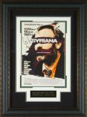 Syriana - George Clooney Autographed 11x17 Framed Poster