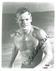 Tab Hunter Signed Authentic Autographed 8x10 Photo (PSA/DNA) #T46544