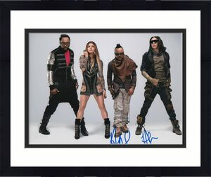 TABOO and APL DE AP signed (THE BLACK EYED PEAS) Music 8X10 photo W/COA #2