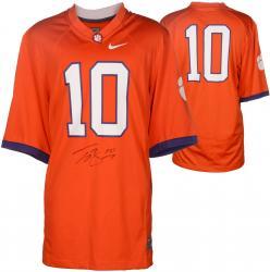 Tajh Boyd Clemson Tigers Autographed Nike Orange Jersey
