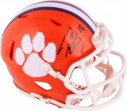 Tajh Boyd Clemson Tigers Autographed Riddell Mini Helmet