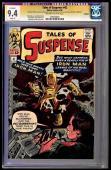 Tales Of Suspense #42 Cgc 9.4 Oww Ss Stan Lee 4th App Iron Man #1239194001