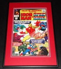 Tales of Suspense #67 Iron Man Captain America Framed 10x14 Cover Poster Photo