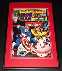 Tales of Suspense #74 Iron Man Captain America Framed 10x14 Cover Poster Photo