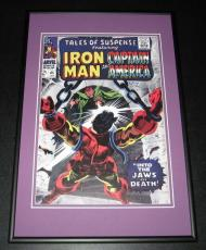 Tales of Suspense #85 Iron Man Captain America Framed 10x14 Cover Poster Photo