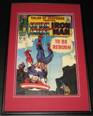 Tales of Suspense #96 Iron Man Captain America Framed 10x14 Cover Poster Photo