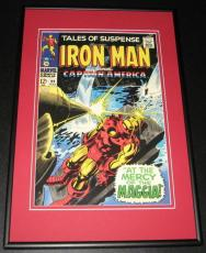 Tales of Suspense #99 Iron Man Captain America Framed 10x14 Cover Poster Photo