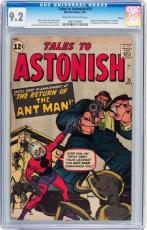 Tales To Astonish #35 Cgc 9.2 Origin & 1st App Ant Man In Costume # 0963158004