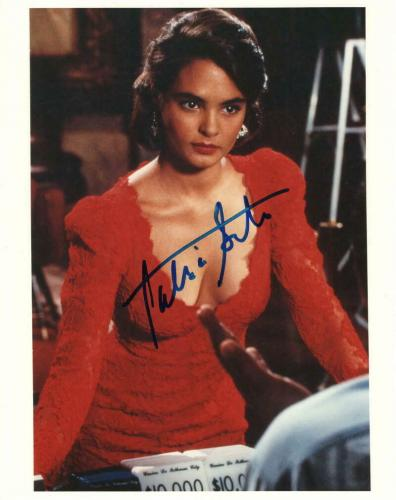 Talisa Soto Signed Autograph 8x10 Photo - Sexy License To Kill James Bond Girl