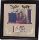 Taylor Swift Framed 28x30 1989 Album Photo and CD Collage