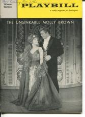 Tammy Grimes Christopher Hewet The Unsinkable Molly Brown Opening Night Playbill