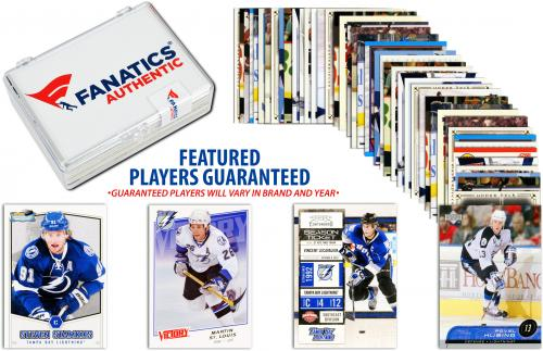 Tampa Bay Lightning Team Trading Card Block/50 Card Lot