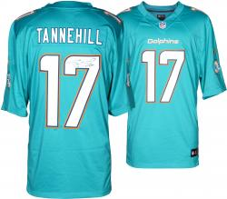Ryan Tannehill Miami Dolphins Autographed Nike Limited Aqua Jersey