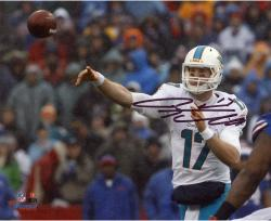 "Ryan Tannehill Miami Dolphins Autographed 8"" x 10"" Photograph -"