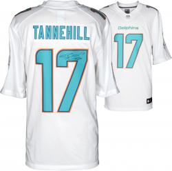 Ryan Tannehill Miami Dolphins Autographed Nike Limited White Jersey