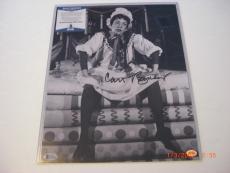 Carol Burnett Famous Actress Td/holo Signed 11x14 Photo
