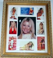 Tara Reid Autographed Signed Photo Display & Proof PSA/DNA  AFTA AFTAL