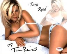 Tara Reid Sexy Signed 8X10 Photo Autographed PSA/DNA #Y50618