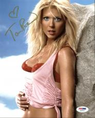 Tara Reid Sexy Signed 8X10 Photo Autographed PSA/DNA #Y50622