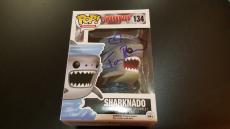 "Tara Reid Signed ""sharknado"" Funko Pop Vinyl Figure Autographed Rare"