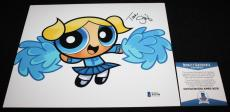 Tara Strong signed 8 x 10, Powderpuff Girls, Teen Titans, My Little Pony, COA