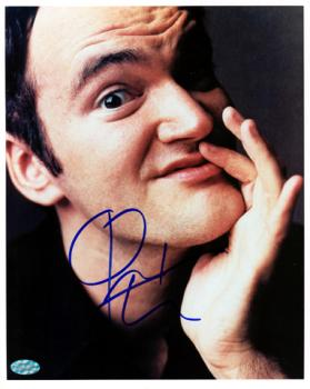 TARENTINO, QUENTIN AUTO (CLOSE-UP) 8x10 PHOTO