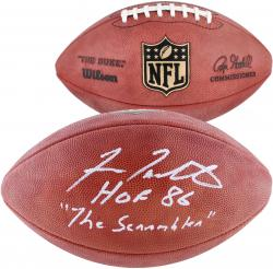 Fran Tarkenton Minnesota Vikings Autographed Duke Pro Football with Multiple Inscriptions